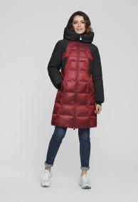 """Пальто """"Бритни"""" бордовый"""