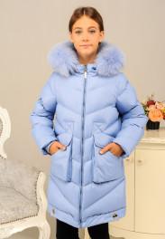 Зимняя куртка для девочки «Катрина» (размер 36-40)