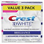 Crest Toothpaste 3D White Brilliance (3шт)