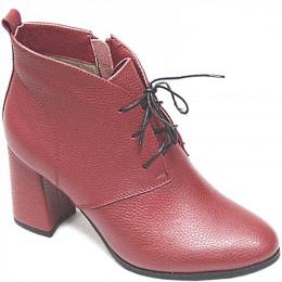 3F540-0100 крас Ботинки деми женские (35-41)