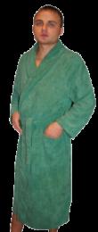 Банный халат  из  микрофибры .