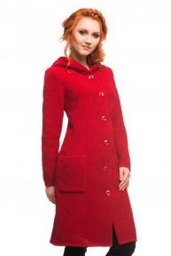 Пальто с капюшоном Алегро М-0574