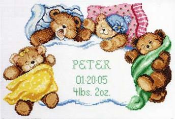 """Набор для вышивания Janlynn 056-0191 """"Сладких снов!"""""""