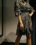 платье в модный принт