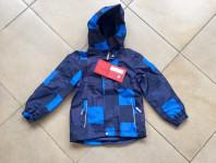 Демисезонная мембранная куртка цвет Dark Blue Cube р. 104+