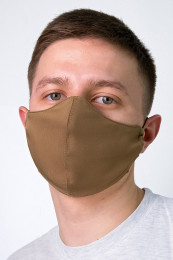 Декоративная маска мужская  хаки