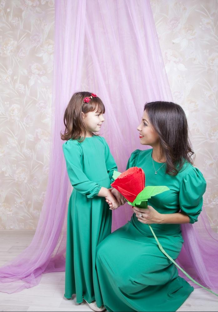 Костюм на конкурс мама с дочкой