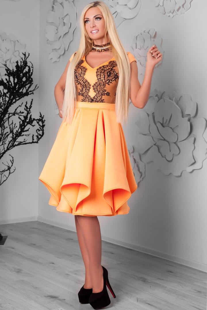 Платье ламбада