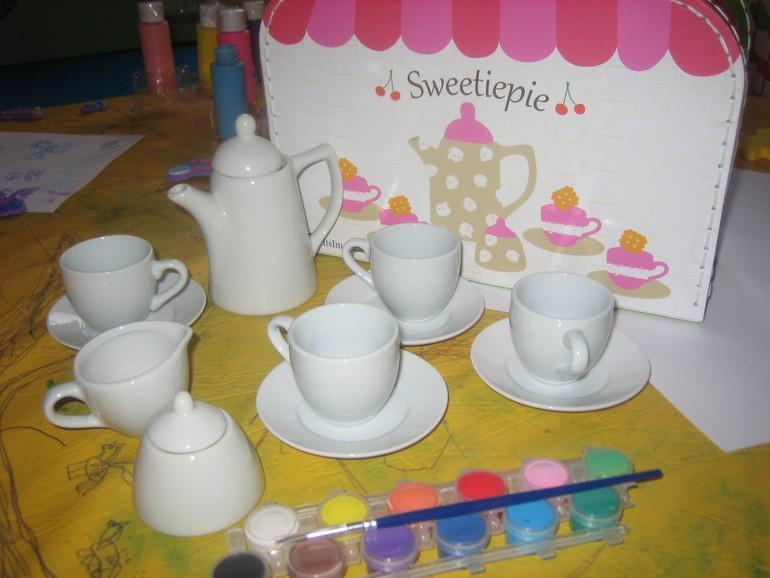 Расписная посуда для девочек из Imaginarium и много всего другого!