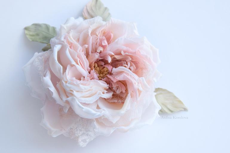 Новый шелковый цветок.