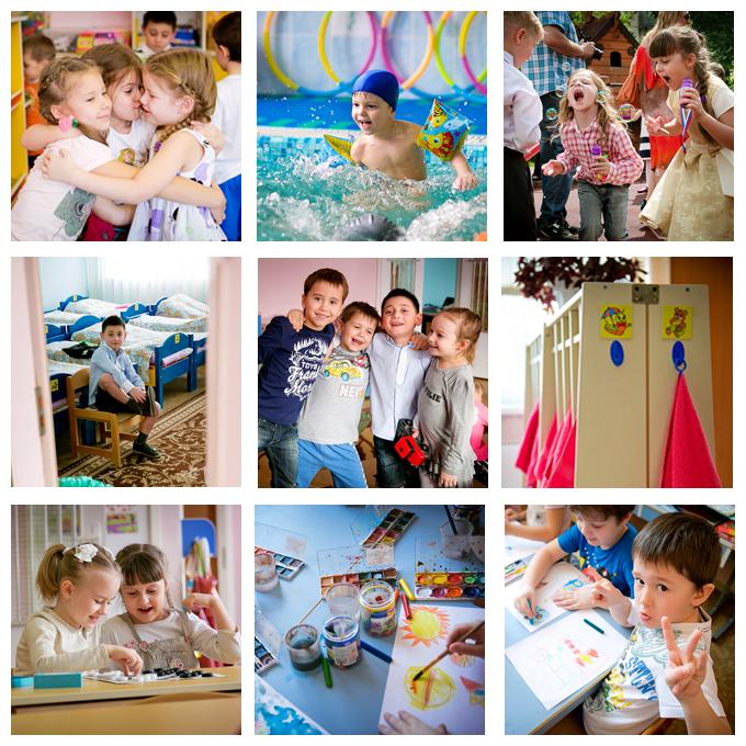 Съемка в детском саду. Фотокнига с веселыми воспоминаниями