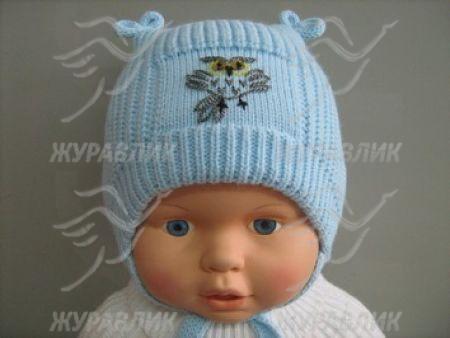 Вязать шапочку для новорожденного малыша
