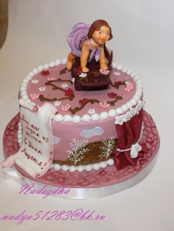 картинки тортов на день рождения для женщин
