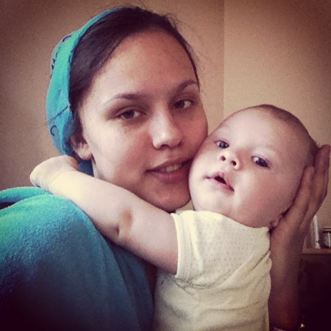 4 месяца назад родился мой малыш)))