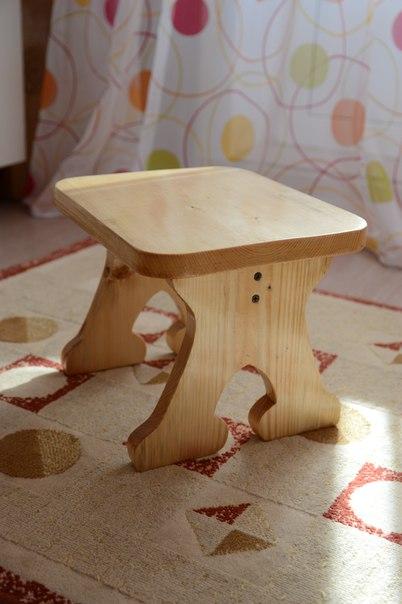 Скамеечка своими руками из дерева для ребенка 12