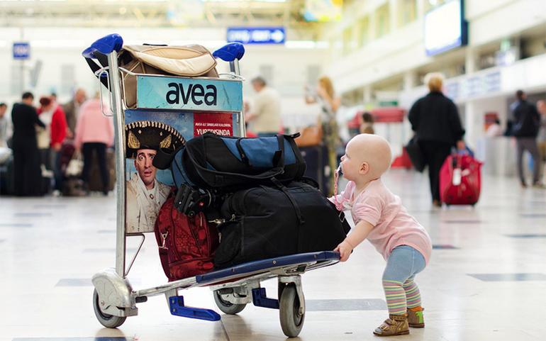 что взять в путешествие с ребенком