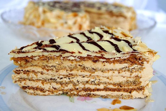 торт будапешт рецепт
