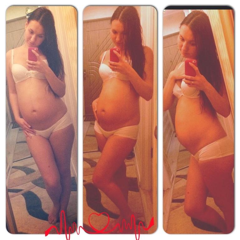 Живот беременных в 15 недель