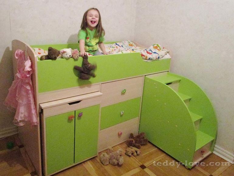 Кровать ребенку от 3 лет барахолка