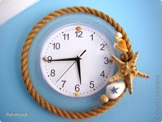 Морские часы настенные своими руками 88