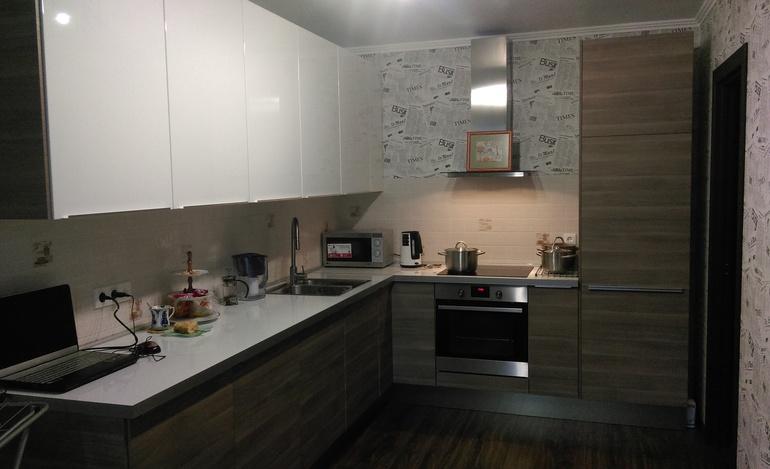 Дизайн угловых кухонь в интерьере фото