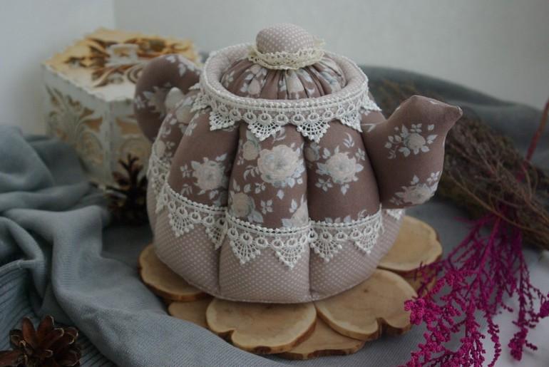 Текстильный чайник своими руками 259