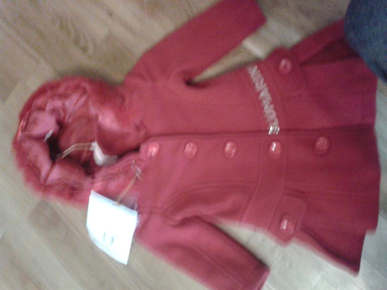 Верхняя одежда для девочки 9-12-18мес(Пальто Blumarine/комбез Monnalisa...)