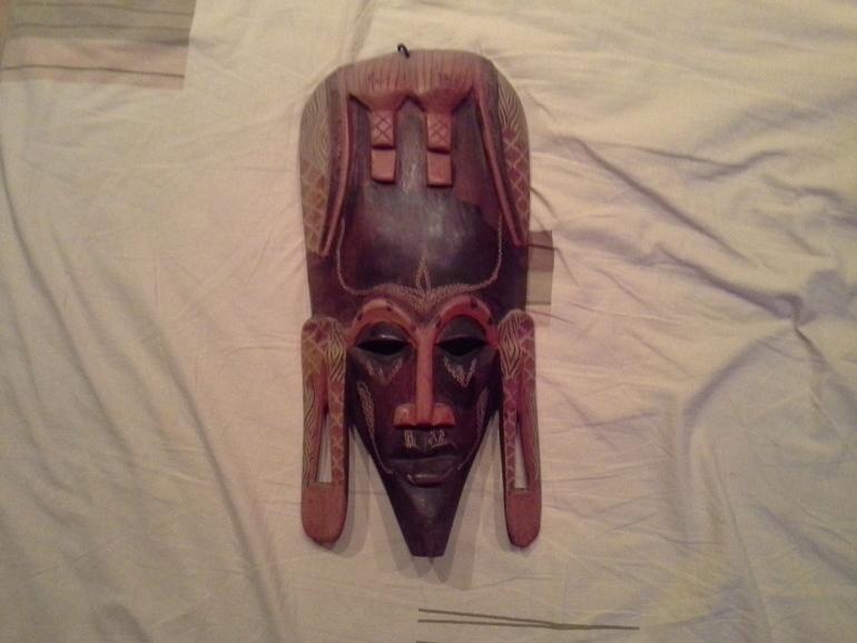 маска, украшение интерьера, 500р