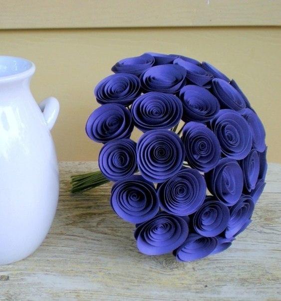 Цветы из бумаги своими руками из бумаги роза