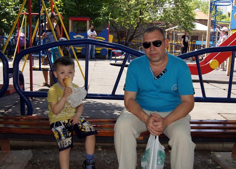 Крым 2014.Зоопарк,Детский парк.
