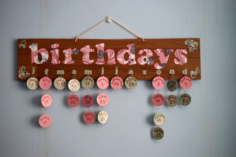 календарь для дней рождений - фото 8