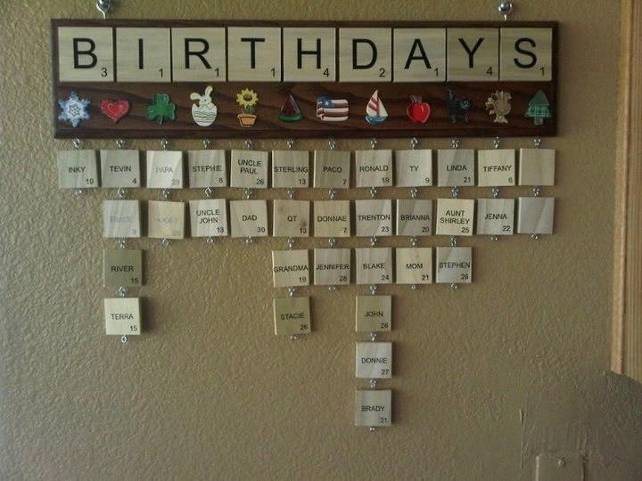 календарь для дней рождений - фото 7