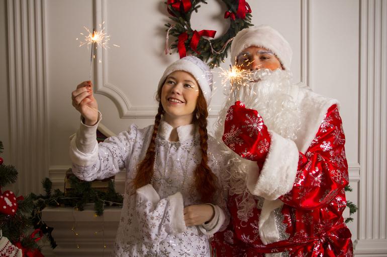 Дед Мороз и Снегурочка на дом, в детский сад, в школу и на веселый корпоратив!