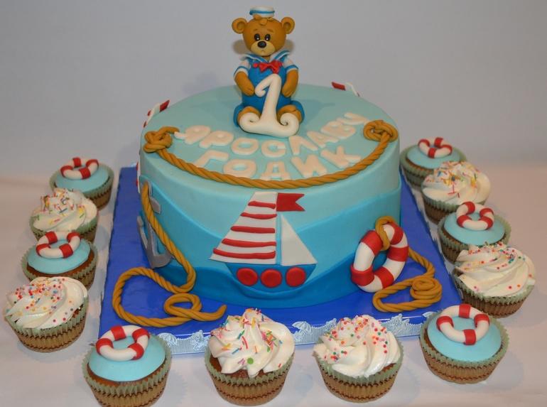 фото торт для моряка