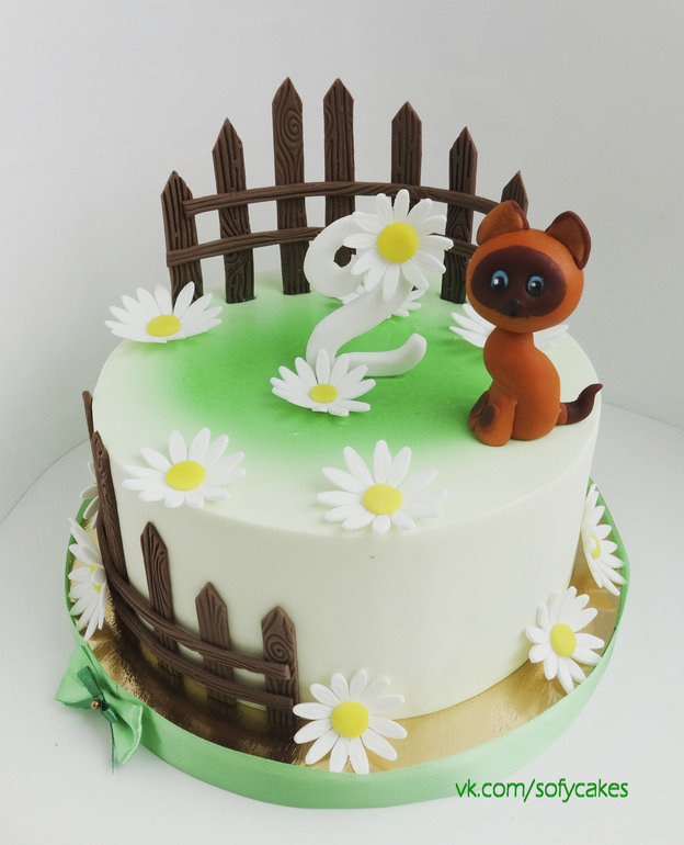 котенок гав торт фото