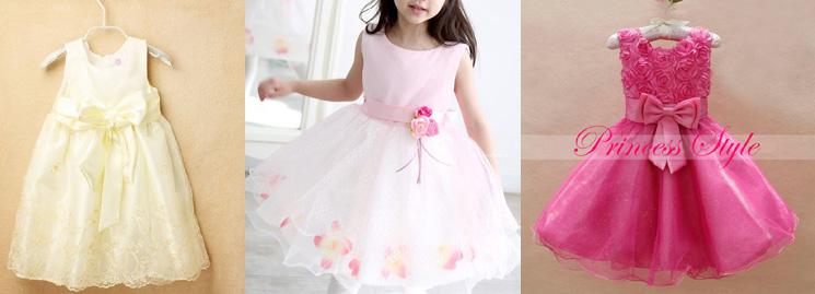 Красивые платья к годику