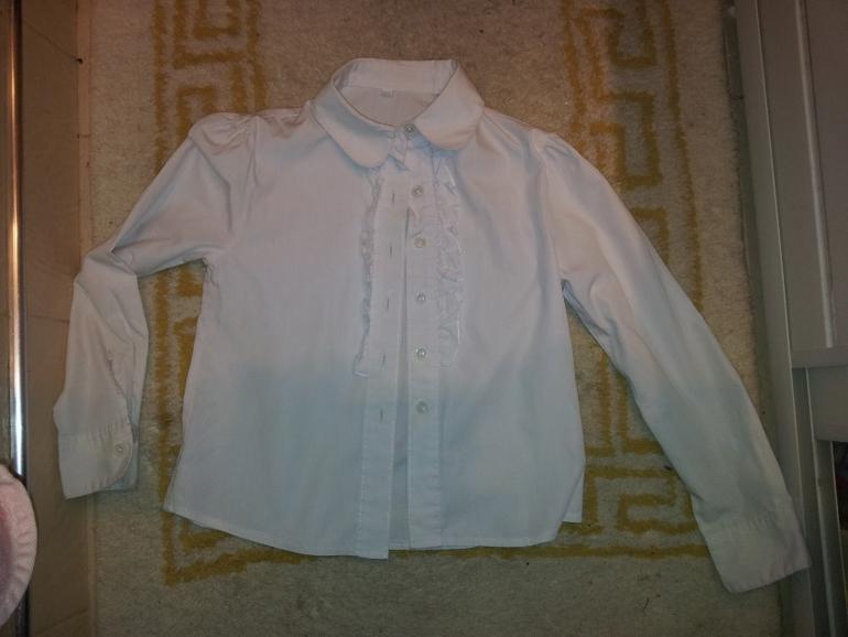 Купить блузку в школу для девочки 7 лет