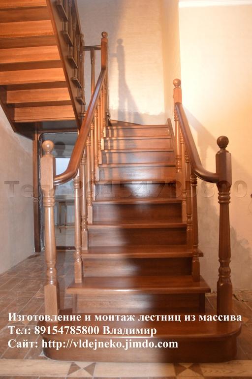 Лестницы из массива!