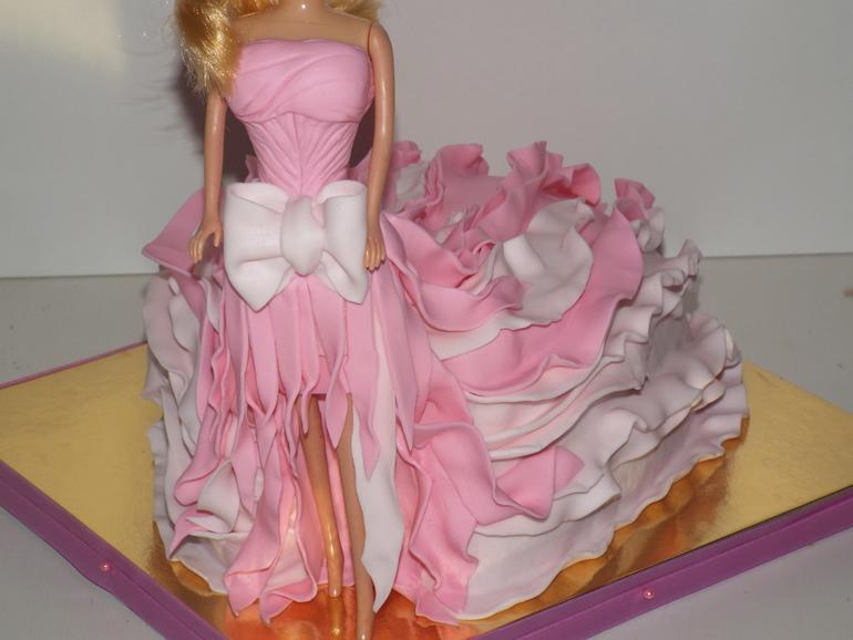 Торт барби своими руками фото 5