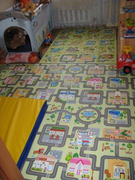 Мягкий пол для детей