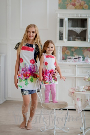 Комплекты для мамы и дочки своими руками