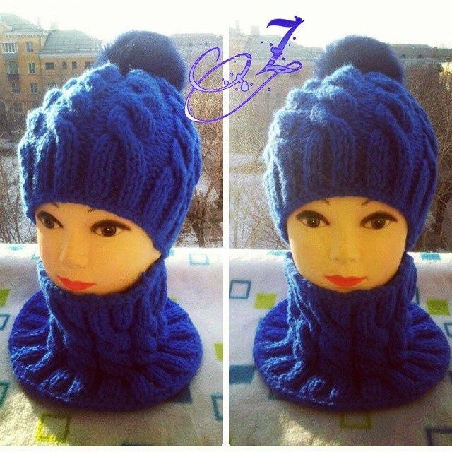 Вязание шапок из пряжи для девочки 900