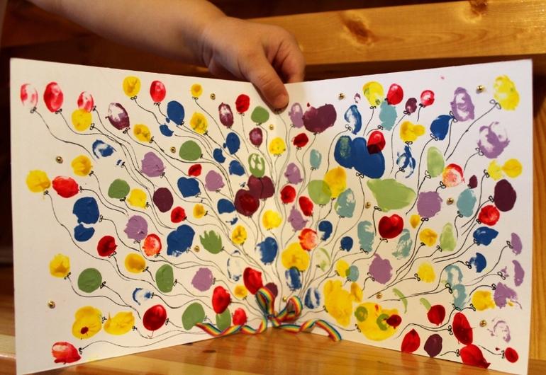 Пригласительный своими руками детский день рождения