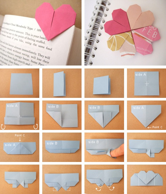 Как сделать из бумаги уголок на книгу