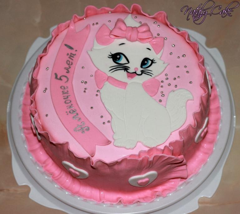 Торта фото киця