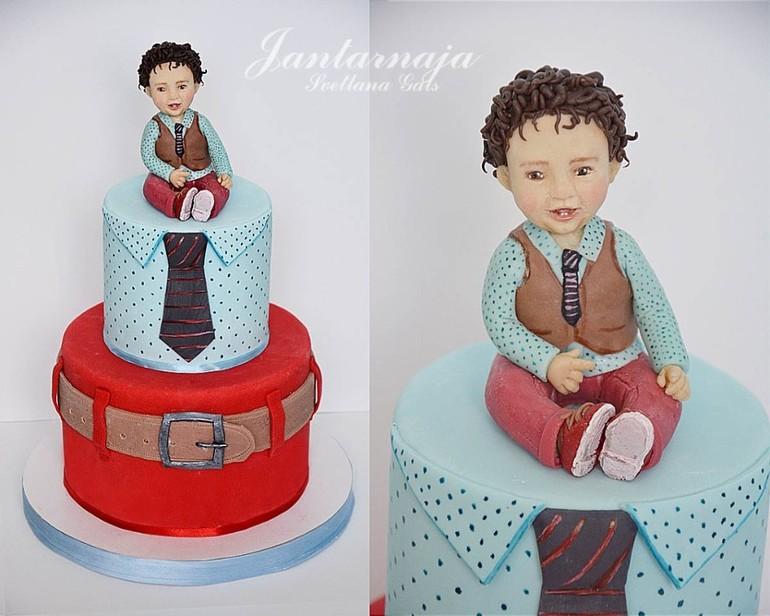 Торт для маленького мальчика