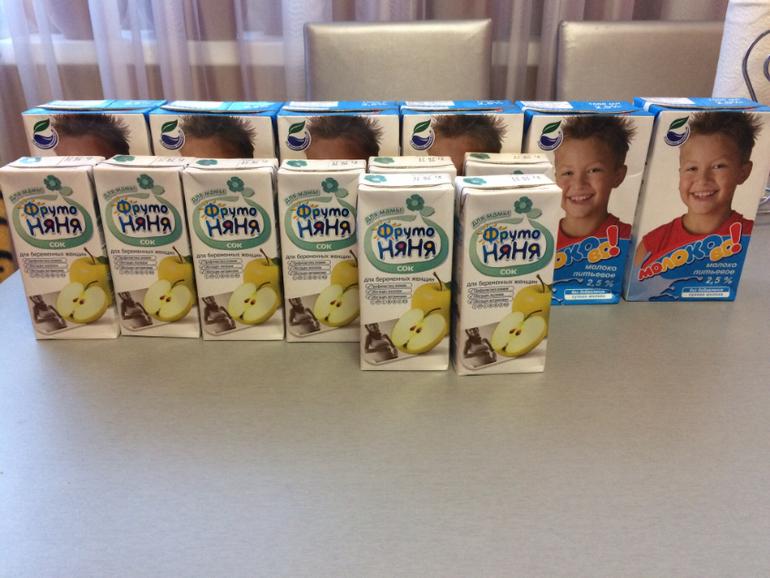 Набор для беременных на молочной кухне 20