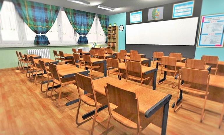 Шторы для школьного класса
