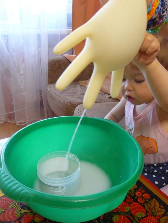 Неньютоновская жидкость в домашних условиях 335