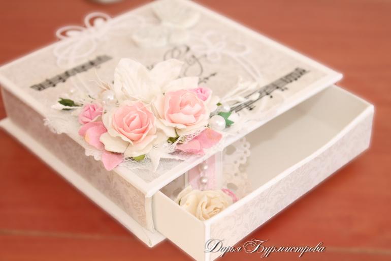 Шкатулка подарок на свадьбу